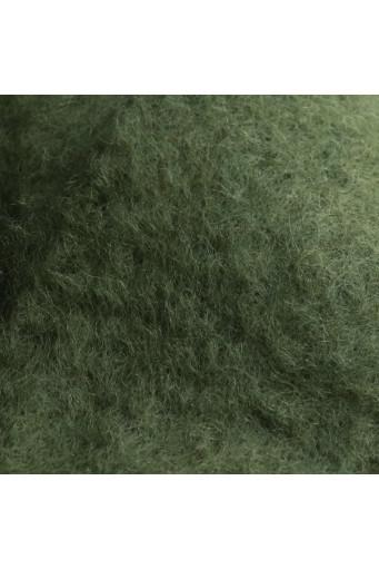 Bufanda de Mohair verde musgo Mantas Ezcaray - Basileia
