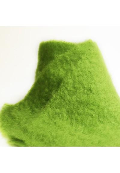 Bufanda de Mohair verde manzana Mantas Ezcaray - Basileia