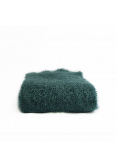 Bufanda de Mohair verde turquesa Mantas Ezcaray - Basileia