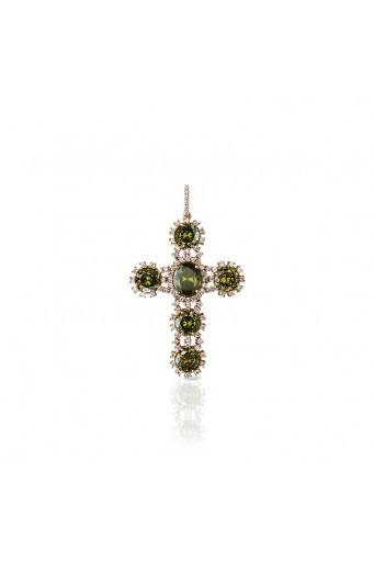Cruz circonitas verde Jimena Basileia