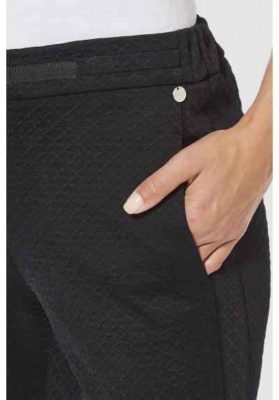 Pantalón casual jacquard Rich & Royal - BASILEIA