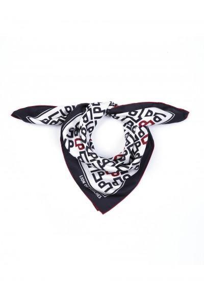 Pañuelo de seda logos Lion of Porches - Basileia