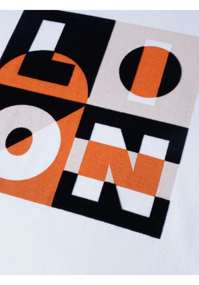 Camiseta logo naranja Lion of Porches - Basileia