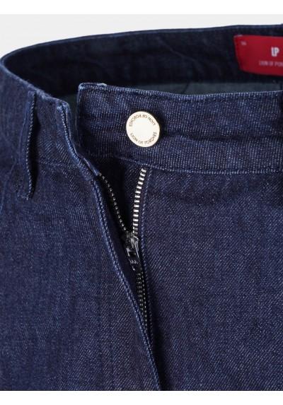 Pantalones de mezclilla con pliegue Lion of Porches - Basileia