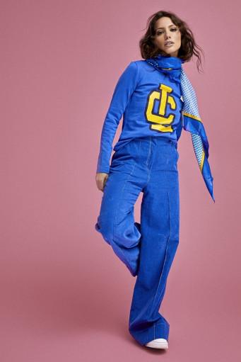 Pantalón pana azulón 4 bolsillos Le Cruel - Basileia